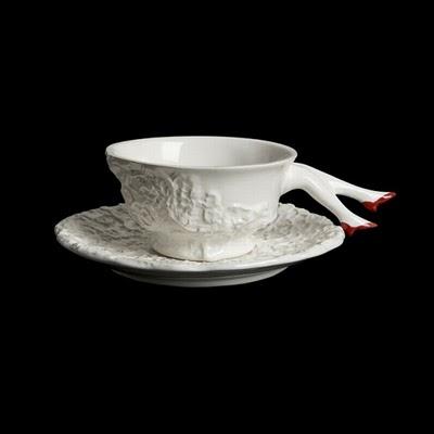 Tea set with legs 18 - ceramic