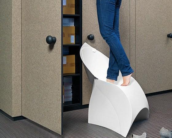 fluxchair4 Flux Chair..เก้าอี้จากไอเดียงานพับกระดาษของญี่ปุ่น พับเก็บง่าย น้ำหนักเบา ไม่เปลืองที่