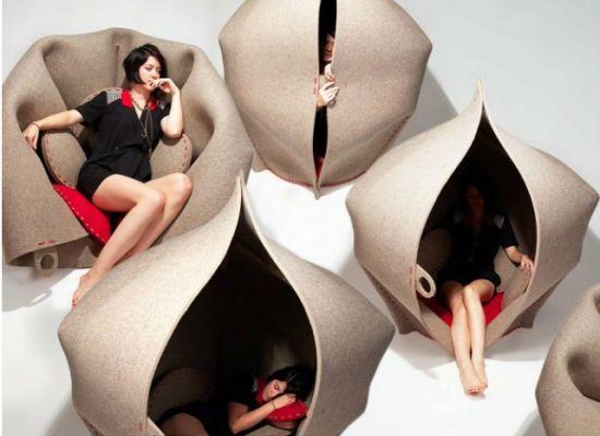 hush a perfect privacy pod for personal retreat q7r12 เก้าอี้แบบนี้..ก็มีด้วย