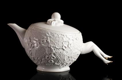 Tea set with legs 14 - ceramic