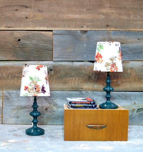 DIY.vintage lamp 13 - DIY