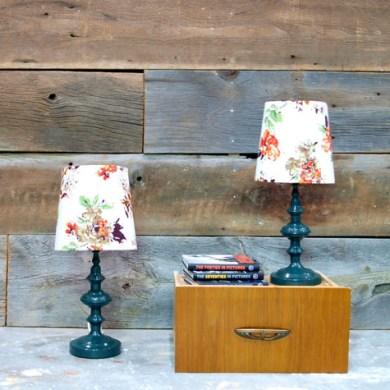 DIY.vintage lamp 16 - DIY