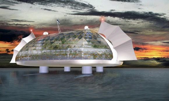 seasteading institute design competition3 580x346 ผู้ก่อตั้ง PayPal ทุ่มเงิน 1.25 ล้านUSD สร้างเมืองขนาดเล็กกลางทะเล