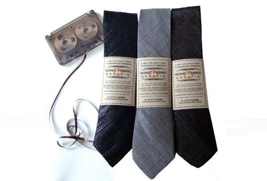 Sonic Fabric..ผ้าที่ถักทอจากเทปคาสเซ็ท 13 - cassette-tape