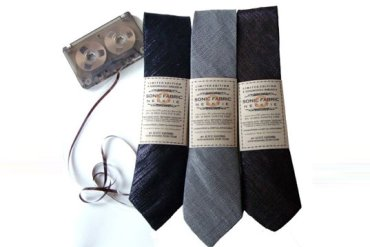 Sonic Fabric..ผ้าที่ถักทอจากเทปคาสเซ็ท 31 - รีไซเคิล
