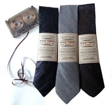 Sonic Fabric..ผ้าที่ถักทอจากเทปคาสเซ็ท 15 - cassette-tape