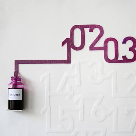 Ink Calendar 17 - Ink Calendar