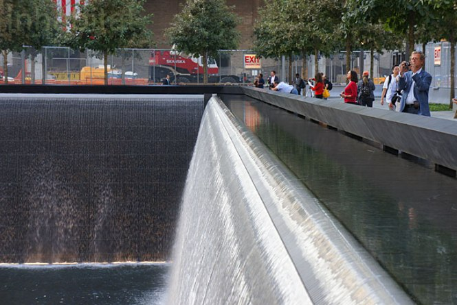 911-Memorial-Reflecting-Waterfall