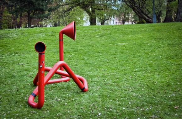 invoxicated 03 580x381 Interactive Sound Sculpture