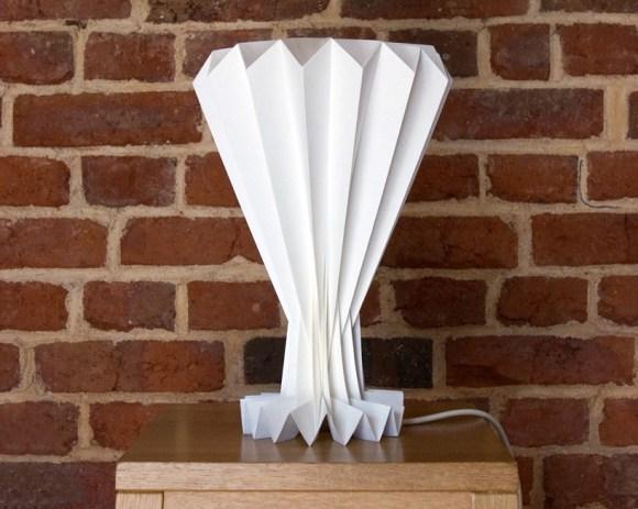 sadako02 580x463 Sadako paper lamps