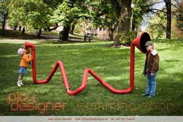 Interactive Sound Sculpture 2 - Interactive Sound