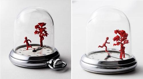 Watch Sculptures 17 - Dominic wilcox