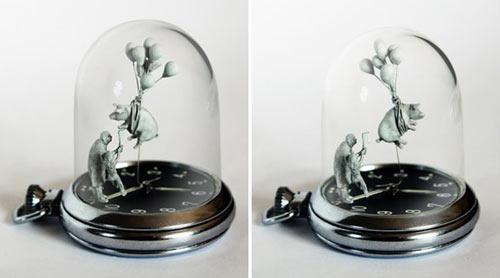 Watch Sculptures 16 - Dominic wilcox