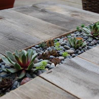 D.I.Y.โต๊ะปลูกต้นไม้..จากลังไม้เก่า 15 - DIY
