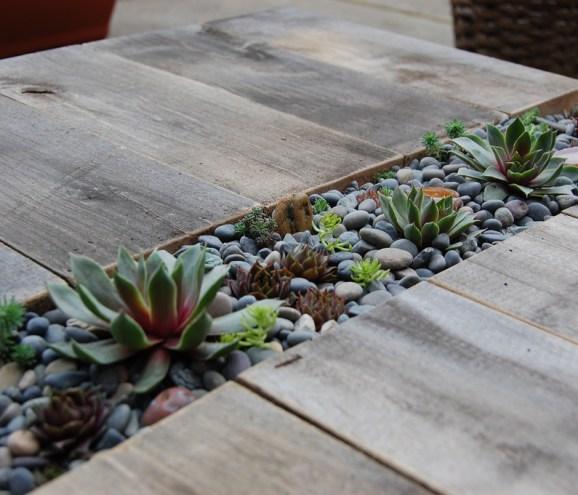 D.I.Y.โต๊ะปลูกต้นไม้..จากลังไม้เก่า 20 - DIY