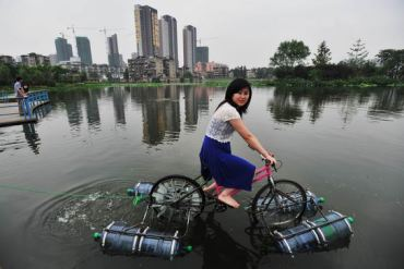 floating bicycle 29 - Architecture