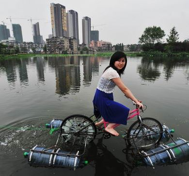 floating bicycle 15 - Architecture