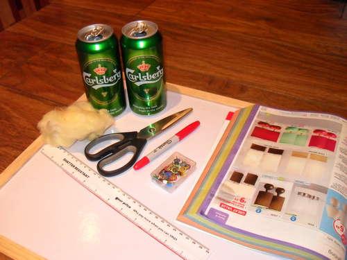 DIY เตาแอลกอฮอล์จากกระป๋องน้ำอัดลม 15 - DIY
