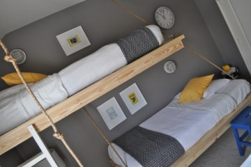 Hanging Beds เตียงนอนลอยหนีน้ำท่วม 8 - Beds
