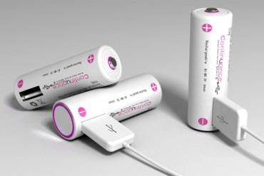 ถ่านชาร์จ USB 17 - usb