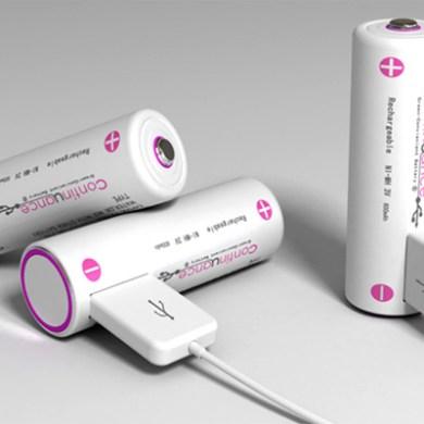 ถ่านชาร์จ USB 14 - usb
