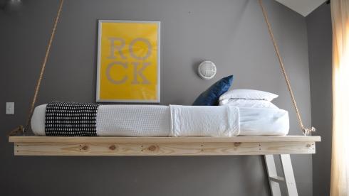 Hanging Beds เตียงนอนลอยหนีน้ำท่วม 17 - Beds