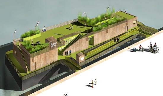 โลกวันพรุ่งนี้ เราอาจต้องปรับตัวอยู่กับน้ำ Floating Architecture 18 - Architecture