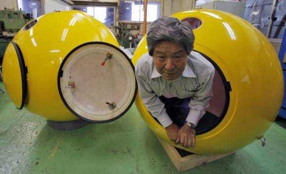 Tsunami survival capsule 14 - capsule