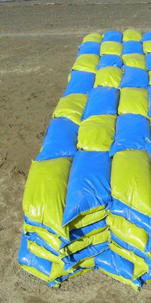 Sandbrick sandbag ถุงทรายไฮโซ 15 -
