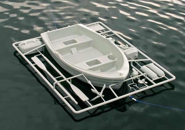 Boat equipmen-ชุดเรือประกอบ-พาหนะยามน้ำท่วม 13 - boat