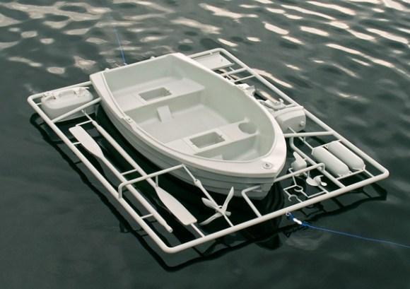Boat equipmen-ชุดเรือประกอบ-พาหนะยามน้ำท่วม 16 - boat
