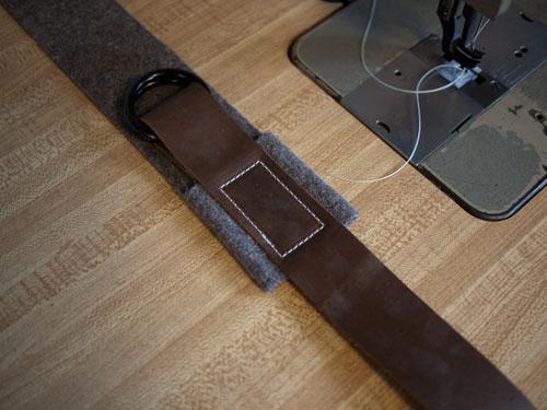 DIY.old school book strap ในช่วงปิดเทอม 19 -