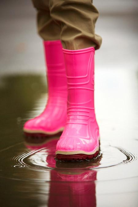 แฟชั่นรองเท้าบู๊ทยาง 17 - Rainboots