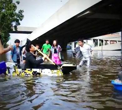 ไอเดียสร้างสรรค์สุดๆ..Ready Boat เรือพกพาจากแผ่นฟิวเจอร์บอร์ด 14 - flood