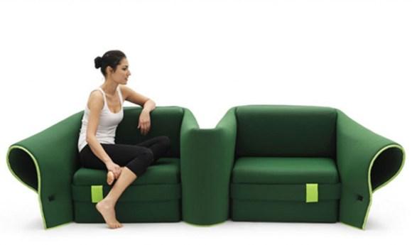 23 580x345 A Multi Transformation Sofa by Campeggi
