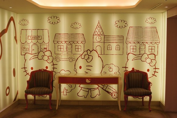 4493933741 580x385 ไปทัวร์ Hello Kitty room ที่เกาะเชจูเกาหลี