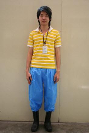 Magic pants กางเกงแก้วป้องกันโรคจากน้ำท่วม 15 - Magic pants