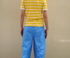 Magic pants กางเกงแก้วป้องกันโรคจากน้ำท่วม