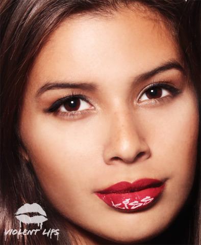 BELLA redkiss Violent lips แฟชั่นปากมีสี!
