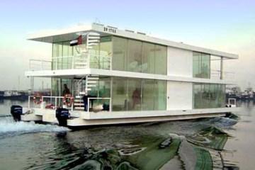 House Boat Design บ้านเรือ