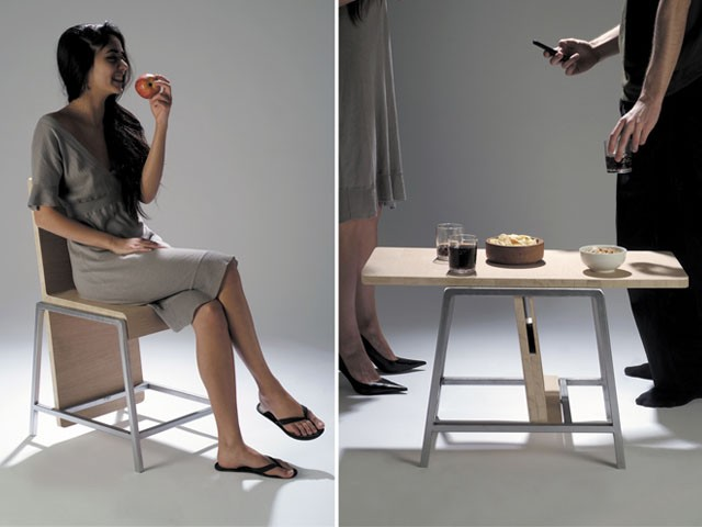 2 in 1: Chair and Coffee Table 13 - chair