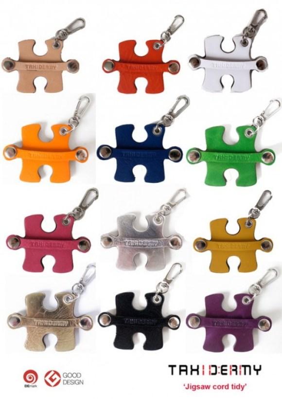 all colour jigsaw copy 580x820 ที่เก็บสายหูฟังเก๋ๆ..ผลงานคนไทย รางวัล Good Design Award จากญี่ปุ่น
