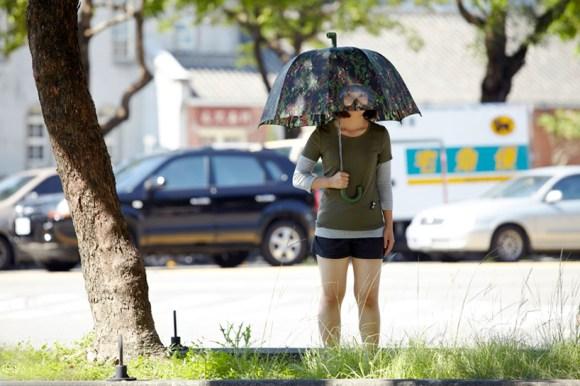 Goggles umbrella แฟชั่นทหารบนร่ม 15 - scuba diver