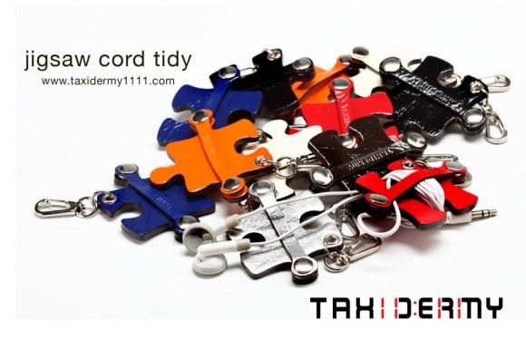 jigsaw cord tidy1 580x386 ที่เก็บสายหูฟังเก๋ๆ..ผลงานคนไทย รางวัล Good Design Award จากญี่ปุ่น