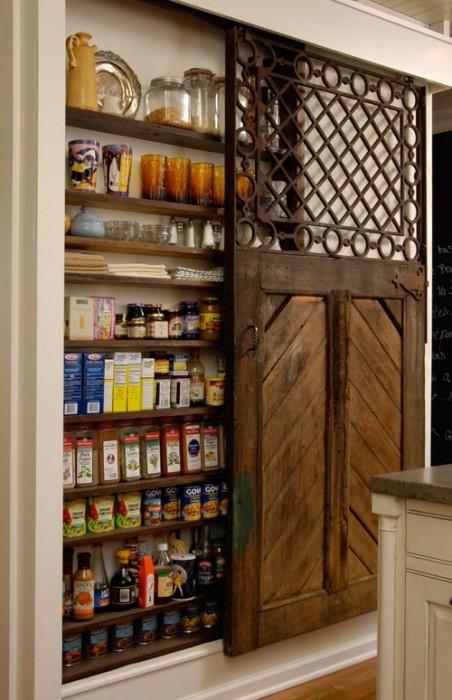 ก่อน-หลัง บานประตู DIY:Before & After repurposed horse stall doors 17 -