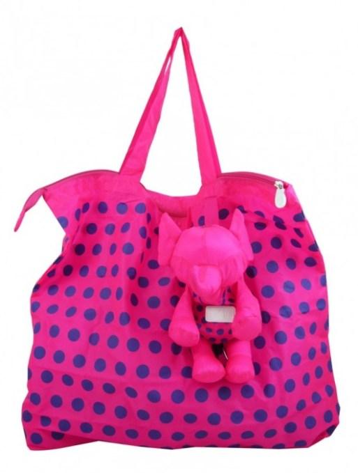 pinkpurple1 580x754 Eleph..กระเป๋าพับได้..ช้าง..ช้าง..ช้างน่ารัก