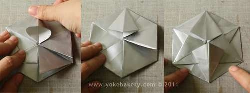 25541211 091014 Origami Snowflake..เอาไว้ตกแต่งบรรยากาศช่วงปีใหม่