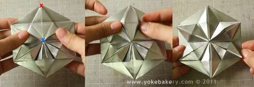 25541211 091055 Origami Snowflake..เอาไว้ตกแต่งบรรยากาศช่วงปีใหม่