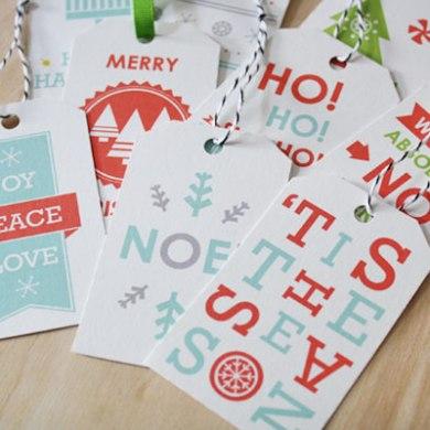 Free Christmas tags 23 - christmas
