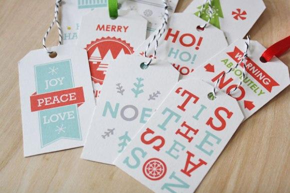 Free Christmas tags 18 - christmas